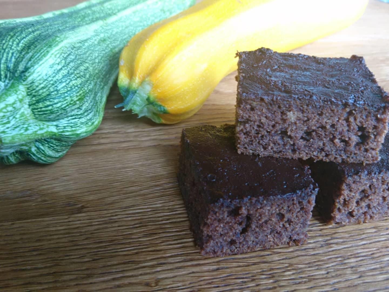 Bezlepkový cuketový perník s čokoládovou polevou